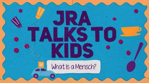 JRA Talks to Kids
