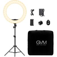GVM Bi-Color LED Ring Light (18)